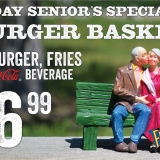 Fuddruckers Seniors Day