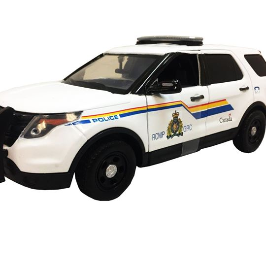 RCMP Heritage Centre Gift Shop Interceptor Utility Vehicle