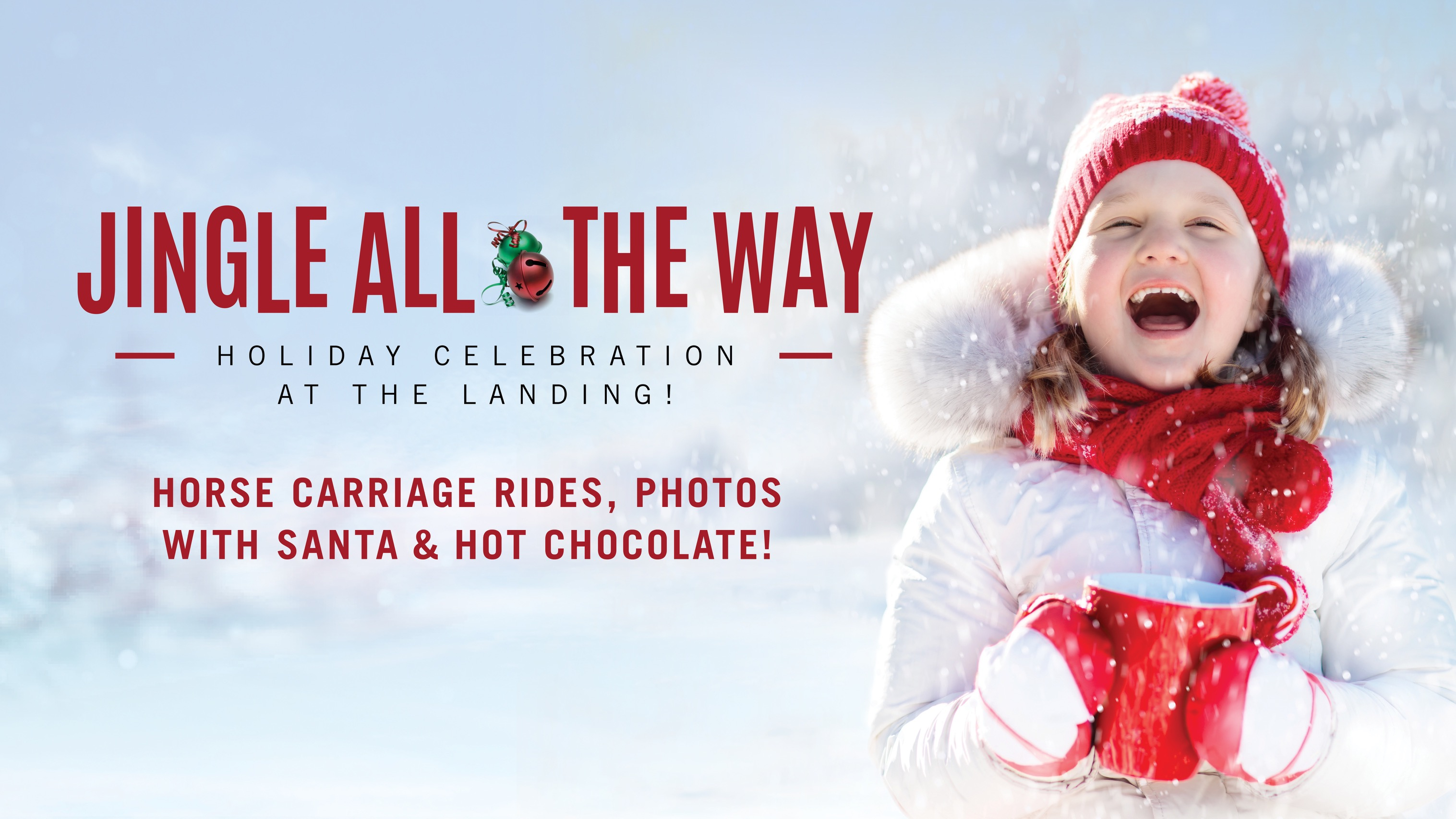 Jingle All the Way The Landing Grasslands Holiday Event Regina Family Event